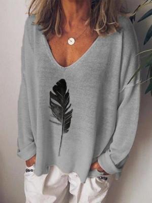 Long Sleeve Casual CottonBlend Shirt