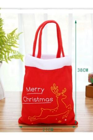 Christmas gift tote bag