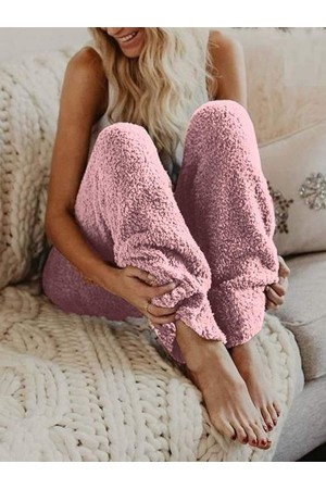Warm Fur Winter Fleece Pants