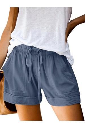 Fashion Women Summer Casual Plain Shorts