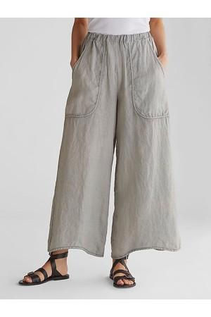 CASUAL PLAIN POCKETS PANTS