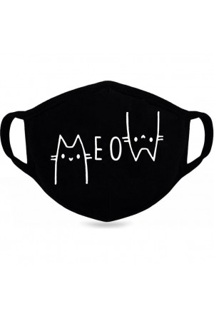 Meow Cat Mask I Love Cats  Funny Mask