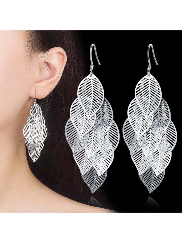 Women's Maple Leaf Earrings