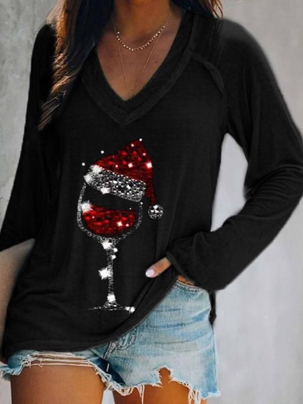 Ladies Christmas Blouse