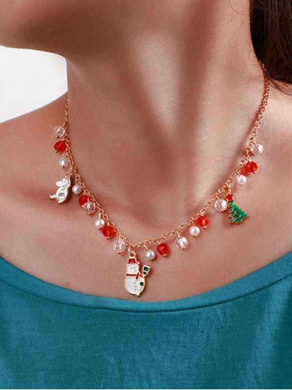 Ladies Christmas Necklace