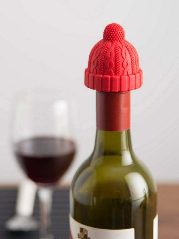Christmas Little Red Riding Hood Wine Stopper Household Creative Silicone Glass Bottle Stopper
