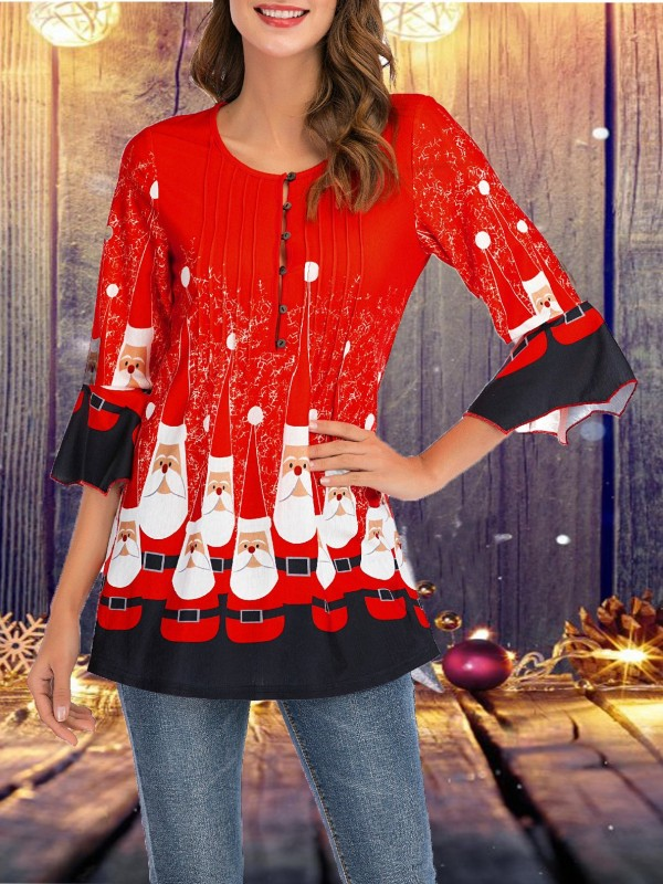 Christmas 3D Printed TShirt