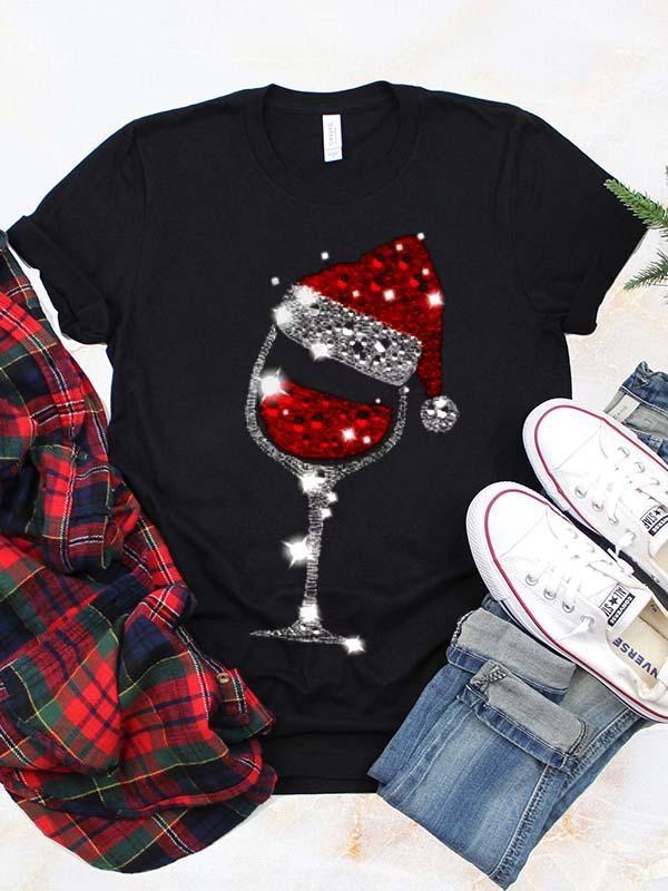 Wine Christmas Classic TShirt