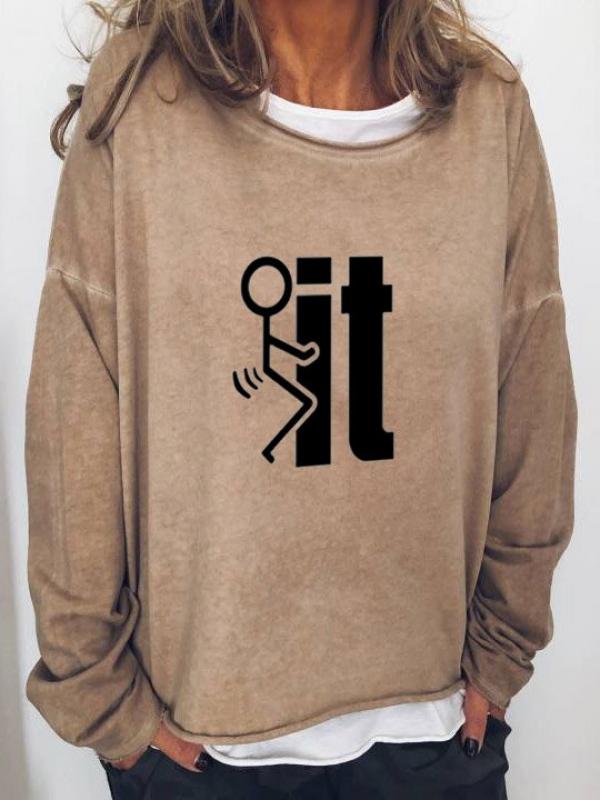 Women's FK IT Print Shirt