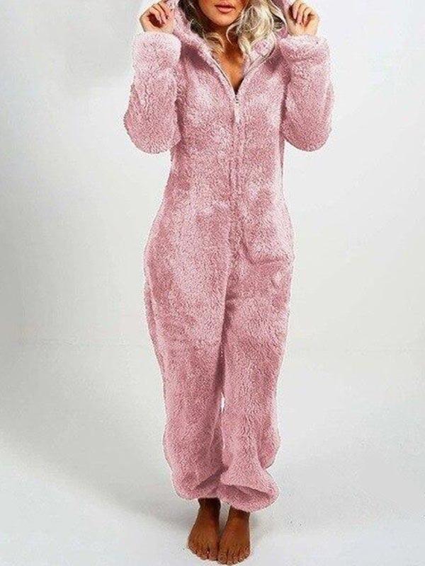 Premium Winter Warm Furry Onesie