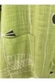 Long Sleeve Casual FloralPrint Blouse